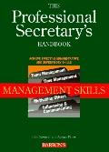 The Professional Secretary's Handbook: Management Skills
