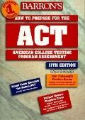 Barron's How to Prepare for Act