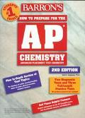 Barron's How to Prepare F/ap Chemistry