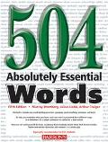 Barron's 504 Absolutely Essential Words