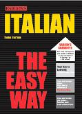 Barron's Italian the Easy Way