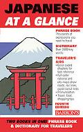 Japanese at a Glance Phrase Book & Dictionary for Travelers