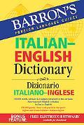 Barron's Italian-english Dictionary Dizionario Italiano-inglese