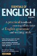 Essentials of English: A Practical Handbook Covering All the Rules of English Grammar and Wr...