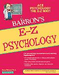 E-Z Psychology (Barron's E-Z Series)