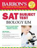 Barron's SAT Subject Test: Biology E/M, 3rd Edition