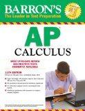 Barron's AP Calculus, 11th Edition