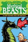 Mythical Beasts 52 Giant Creature Cards and Game Book