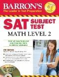 Barron's SAT Subject Test Math Level 2 with CD-ROM