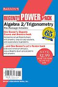 Algebra 2/Trigonometry Power Pack (Regents Power Packs)