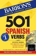 501 Spanish Verbs with CD-ROM and Audio CD (501 Verb)