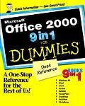 Microsoft Office 2000 9 in 1 for Dummies Desk Reference: 9 Books In 1:  Windows 98, Word, Ex...