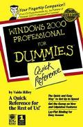 Windows 2000 Professional For Dummies: Quick Reference (For Dummies: Quick Reference (Comput...