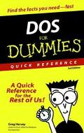 DOS for Dummies Quick Reference