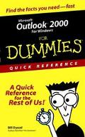Microsoft Outlook 2000 for Windows for Dummies Quick Reference