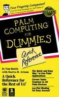 Palm Computing for Dummies Quick Reference