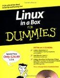 Linux in a Box For Dummies, (Set includes 3 CD-ROM disks) (For Dummies (Computers))
