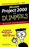 Microsoft Project 2000 for Dummies Quick Reference