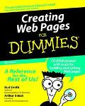 Creating Web Pages for Dummies-w/cd