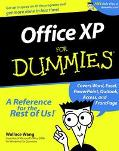 Office Xp for Dummies