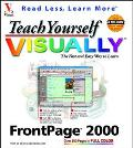 TEACH YOURSELF FRONTPAGE 2000 VISUALLY (P)