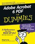 Adobe Acrobat 6 Pdf for Dummies