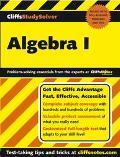 Cliffsstudysolver Algebra I