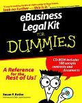 eBusiness Legal Kit  For Dummies - Susan P. Butler - Paperback - BK&CD ROM