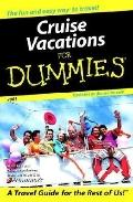Cruise Vacations For Dummies 2001 - Fran Wenograd Golden - Paperback - REV