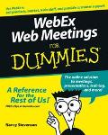 Webex Web Meetings For Dummies