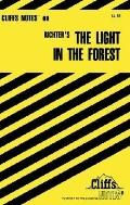The Cliffs Notes on Richter's The Light in the Forest