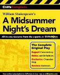 Cliffscomplete Shakespeare's a Midsummer Nights Dream Complete Text, Commentary, Glossary