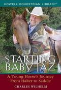 Starting Baby Jaz A Young Horse's Journey from Halter to Saddle