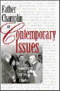 Father Champlin on Contemporary Issues The Ten Commandments and Today's Catholics