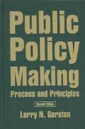 Public Policy Making Process and Principles