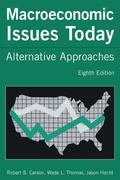 Macroeconomic Issues Today Alternative Approaches