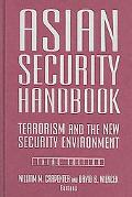Asian Security Handbook Terrorism And The New Security Environment