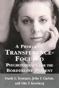 Primer of Transference Focused Psychotherapy for the Boderline Patient
