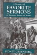 Treasury of Favorite Sermons by Leading American Rabbis