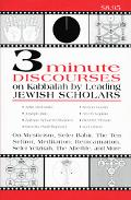 3-Minute Discourses on Kabbalah by Leading Jewish Scholars