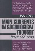 Main Currents in Sociological Thought Montesquieu, Comte, Marx, Detocqueville. Sociologists ...