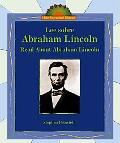 Lee Sobre Abraham Lincoln/ Read About Abraham Lincoln