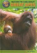Top 50 Reasons to Care About Great Apes: Animals in Peril (Top 50 Reasons to Care About Enda...