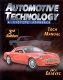 Tech Manual for Erjavec's Automotive Technology: A Systems Approach, 3rd (Comprehensive Auto...