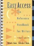 Easy Access: The Reference Handbook for Writers