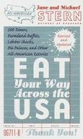 Eat Your Way across the U. S. A. - Jane Stern - Paperback - REVISED