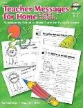 Teacher Messages for Home, English/spanish, Grades K to 2