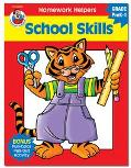 Homework Helper School Skills, Grades Prek to 1
