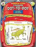 Homework Helper Dinosaur Dot-to-dot, Grades Prek to 1