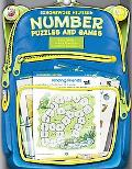 Homework Helper Number Puzzles And Games, Grades K to 1